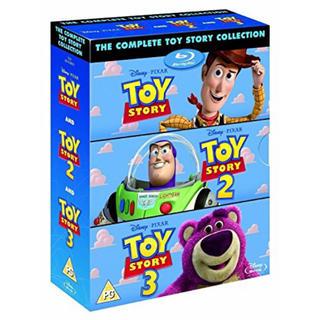 トイストーリー(トイ・ストーリー)のトイストーリー 1 2 3 [Blu-ray Box Set Disney](外国映画)