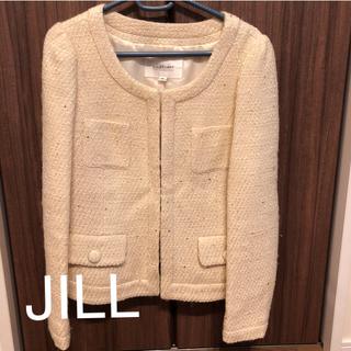 ジルバイジルスチュアート(JILL by JILLSTUART)の最終お値下げ JILL ジャケット(ノーカラージャケット)