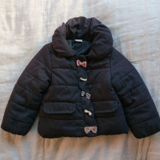 プティマイン(petit main)のプチマイン 中綿コート  《ブラック》90㎝(コート)