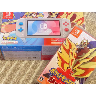 Nintendo Switch - 【新品・未開封】Switch Lite ザシアン ザマゼンタ シールド