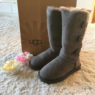 アグ(UGG)のふんわり暖かい♪アグムートンブーツ 23.0cm(ブーツ)