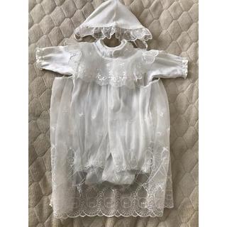 ニシマツヤ(西松屋)のベビードレス くま 50〜60cm(お宮参り用品)