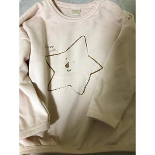 フタフタ(futafuta)のテータテート tete a tete 星柄トレーナー 95(Tシャツ/カットソー)