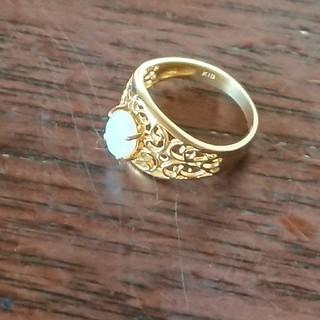 k18オパールリング(リング(指輪))