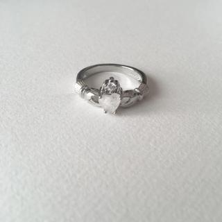 S925 18号 オパールハートリング(リング(指輪))