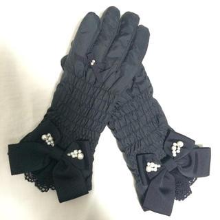 ギャラリービスコンティ(GALLERY VISCONTI)の新品 リボン手袋(手袋)
