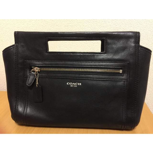 COACH(コーチ)の【値下げしました!】【美品】COACH コーチ レザー ハンドバッグ レディースのバッグ(トートバッグ)の商品写真