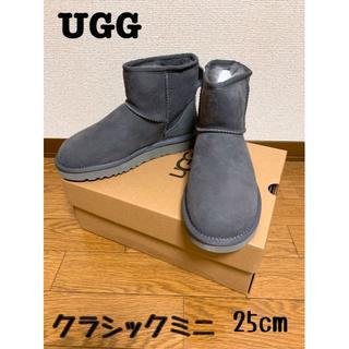アグ(UGG)のUGG クラシックミニⅡ グレーUS8(25cm) 新品(ブーツ)