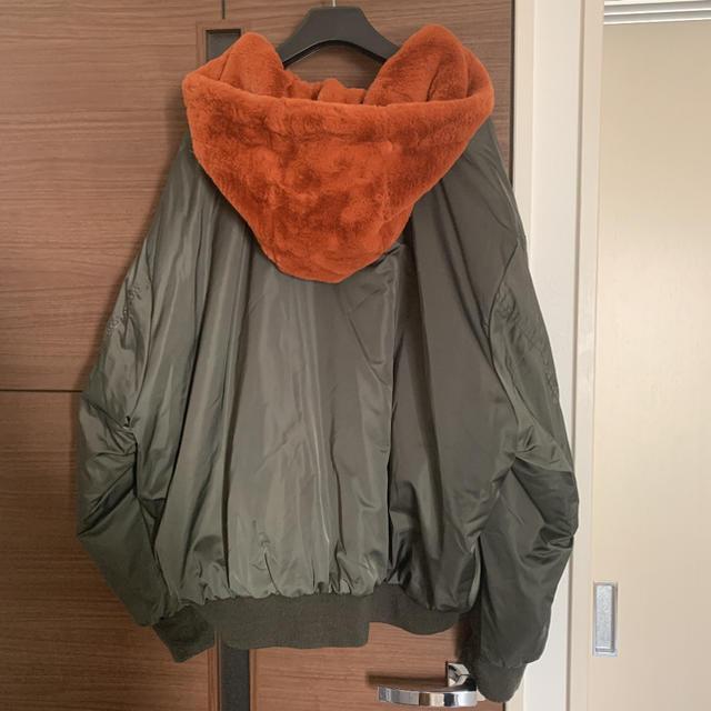 ZARA(ザラ)のZARA リバーシブル ファー ボンバージャケット / moussy SLY レディースのジャケット/アウター(ブルゾン)の商品写真