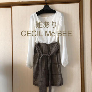 CECIL McBEE - 難あり❤️CECIL Mc BEE ワンピース