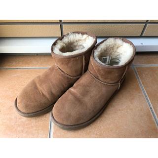 アグ(UGG)のUGG アグ ムートンブーツ ショートブーツ 26cm 正規品 (ブーツ)