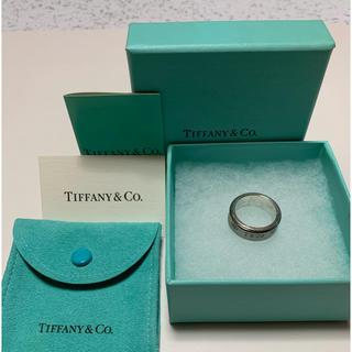 ティファニー(Tiffany & Co.)のティファニー リング チタン シルバー コンビ(リング(指輪))