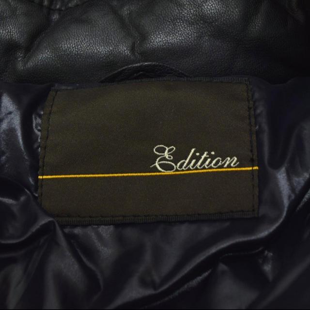 Edition(エディション)のトゥモローランド edtion レザーダウン メンズのジャケット/アウター(ダウンジャケット)の商品写真