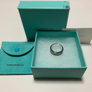 ティファニー(Tiffany & Co.)のティファニー 1837 チタン シルバー リング(リング(指輪))