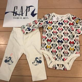 babyGAP - 新品★ 70cm gap ロンパース レギンス ミニー