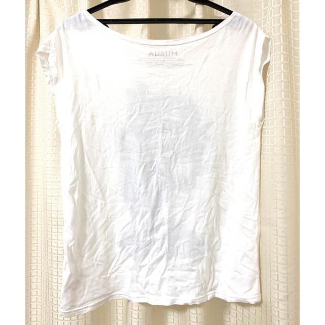MURUA(ムルーア)のビジューTシャツ/MURUA レディースのトップス(Tシャツ(半袖/袖なし))の商品写真