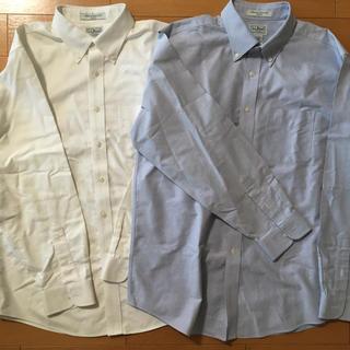 エルエルビーン(L.L.Bean)の難あり 綿100% メンズボタンダウンシャツ ブルーのみ(シャツ)