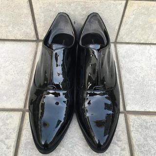 ユナイテッドアローズ(UNITED ARROWS)のユナイテッドアローズ エナメル靴 24 24.5  (ローファー/革靴)
