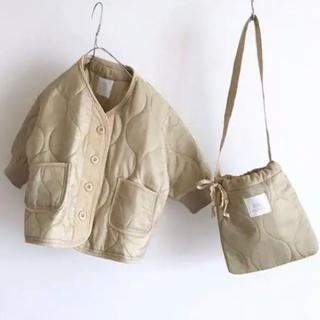 未使用 minirobe キルティング ジャケット ブルゾン 韓国子供服