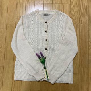 SM2 - sm2 ケーブル編みカーディガン