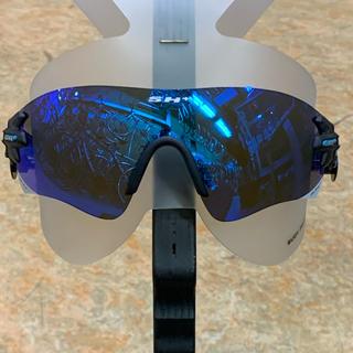 SH+ サングラス『RG5200』グラファイト青 替レンズ2枚付(クリア他)(その他)