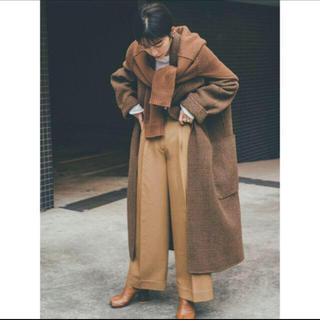 TODAYFUL - todayful チェック コート Over Check Coat
