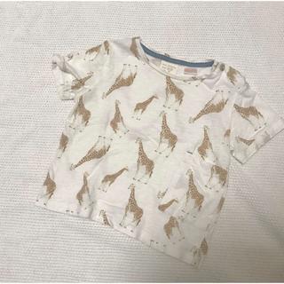 ZARA KIDS - ZARA baby boy キリンTシャツ