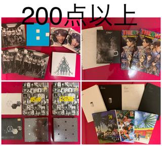 エクソ(EXO)の200点以上 EXO セット まとめ売り 非売品有り DVD CD 公式 (K-POP/アジア)