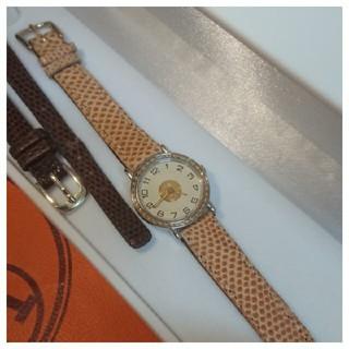 エルメス(Hermes)のエルメス時計  美品  セリエ    ・  レディース(腕時計)