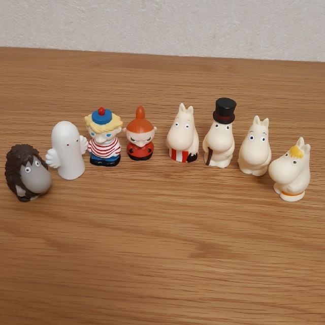 ムーミン指人形8体セット キッズ/ベビー/マタニティのおもちゃ(ぬいぐるみ/人形)の商品写真