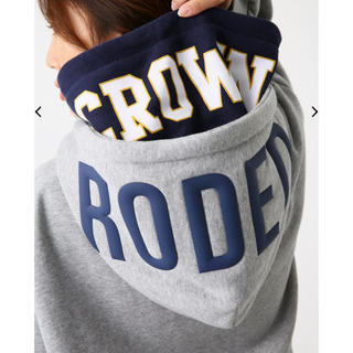 RODEO CROWNS WIDE BOWL - RODEO CROWNS WIDE BOWL  パーカー グレー フリー