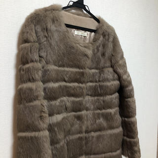 アーバンリサーチ(URBAN RESEARCH)のラビットファーコート(毛皮/ファーコート)