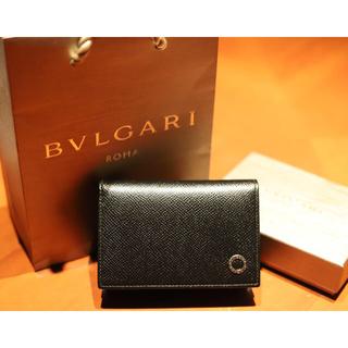BVLGARI - 【クリスマスプレゼントに最適】BVLGARI ブルガリ 名刺入れ カードケース