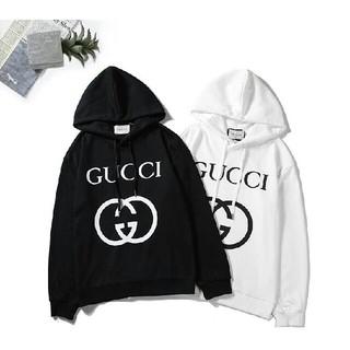 Gucci - 2色 GUCCI パーカー フード付き 裏起毛 男女兼用 暖かい