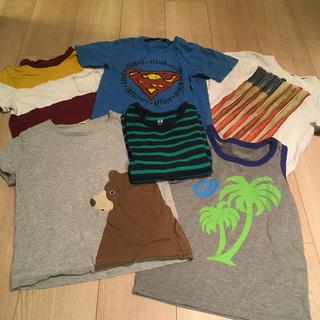 ギャップキッズ(GAP Kids)の120男の子 Tシャツ4着 ロンT1 (おまけ袖なし)(Tシャツ/カットソー)