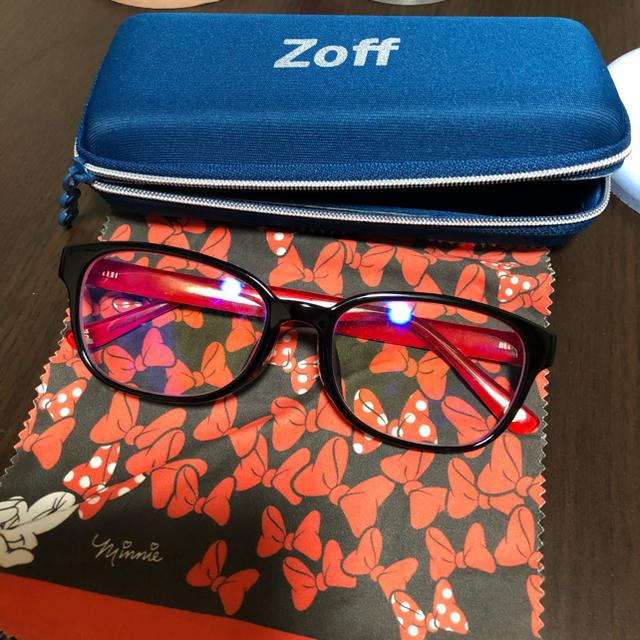 Zoff(ゾフ)のzoff メガネ ディズニー ミニー レディースのファッション小物(サングラス/メガネ)の商品写真
