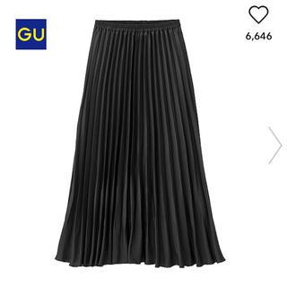 GU - GU プリーツマキシスカート