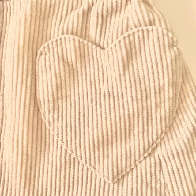 N.Natural beauty basic(エヌナチュラルビューティーベーシック)の★ナチュラルビューティーベーシック★コーデュロイ スカート M 女の子 キッズ/ベビー/マタニティのキッズ服女の子用(90cm~)(スカート)の商品写真