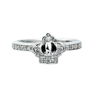 ジャスティンデイビス(Justin Davis)の新品◆JUSTIN DAVIS◆クラウンダイヤリング◆8号◆定価57,200円◆(リング(指輪))