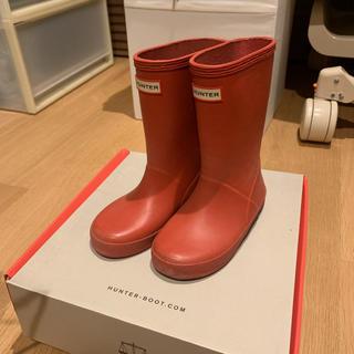 ハンター(HUNTER)のdreams様専用HUNTER KIDS FIRST CLASSIC 赤 (長靴/レインシューズ)