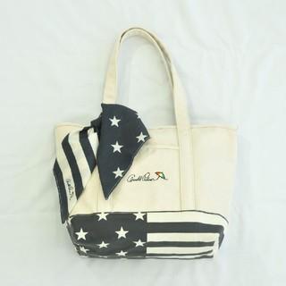 アーノルドパーマー(Arnold Palmer)のアーノルドパーマー バンダナ付き星条旗柄トートバッグ(トートバッグ)