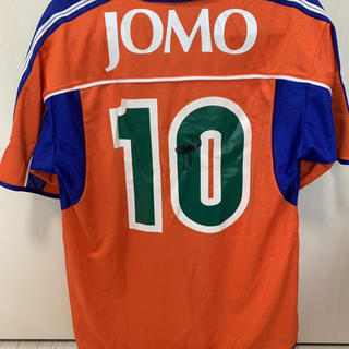 MIZUNO - ロベルト・バッジョ JOMO CUP 2000 サイン入りユニフォーム