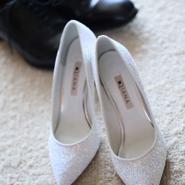 DIANA(ダイアナ)のDIANA ブライダルシューズ レディースの靴/シューズ(ハイヒール/パンプス)の商品写真