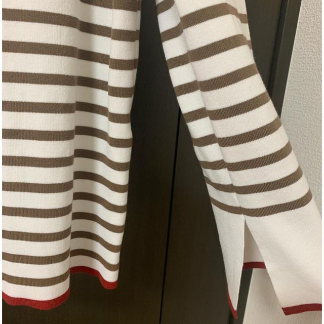 Mila Owen(ミラオーウェン)のバイカラーボーダーニット レディースのトップス(ニット/セーター)の商品写真