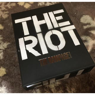 THE RAMPAGE - THE RAMPAGE THE RIOT アルバム TYF ライブDVD
