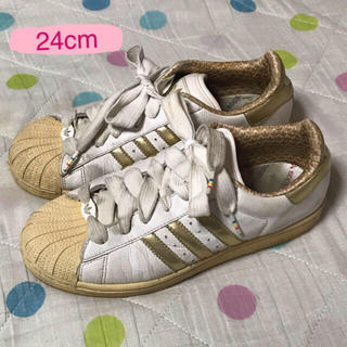 アディダス(adidas)の24.0cm アディダス スニーカー(スニーカー)