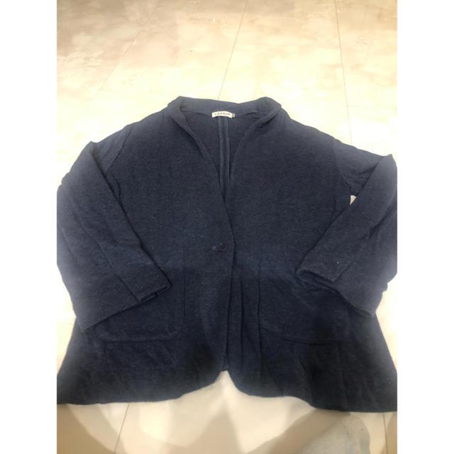 LEPSIM(レプシィム)のLEPSIM   トレーナー生地柔らかなジャケット レディースのトップス(カーディガン)の商品写真
