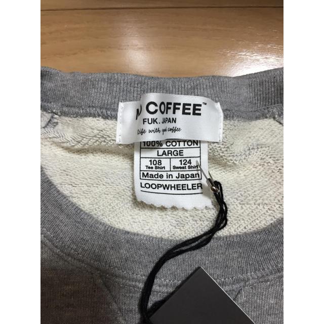 NO COFFEE × LOOPWHEELER ノーコーヒー L メンズのトップス(スウェット)の商品写真