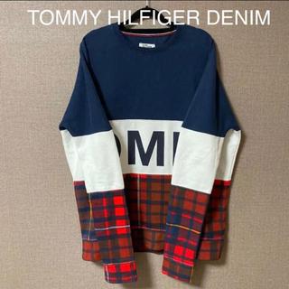 TOMMY HILFIGER - 【試着のみ】TOMMY  HILFIGER DENIM ビッグロゴ スウェット
