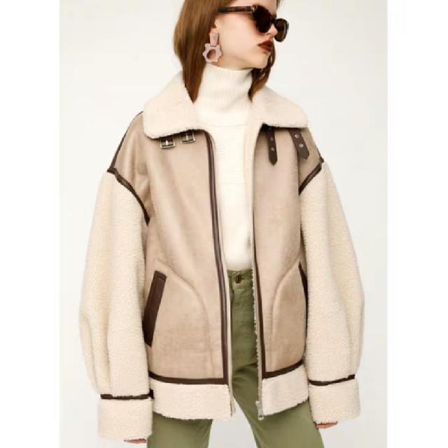SLY(スライ)の新品未使用 SLY oversize b-3 レディースのジャケット/アウター(テーラードジャケット)の商品写真